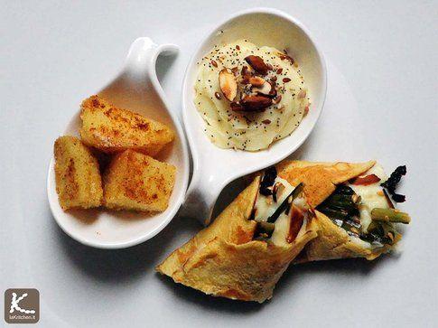 Tre Finger food con le patate rosse | Bigodino