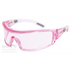 Packing in Pink Shooting Safety Glasses. ... Going to have to bedazzle these !!
