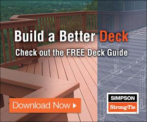 Learn how to install concrete deck footings to properly support your deck. Watch our step by step deck foundations video.