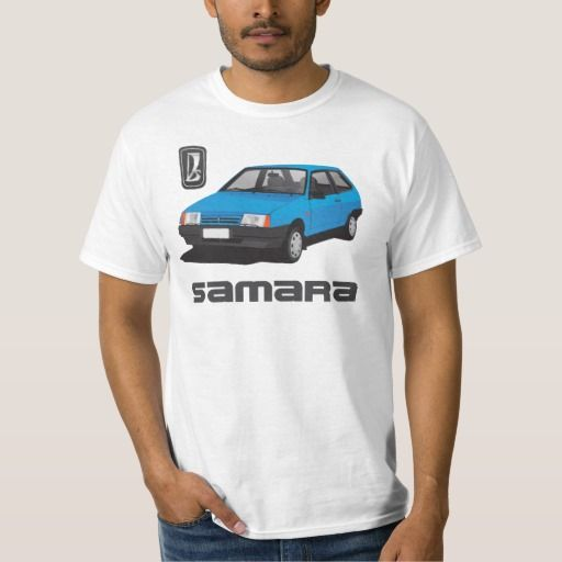 Lada Samara | ВАЗ-2109 | VAZ-2109, DIY, blue  #lada #samara #vaz-2109 #sputnik #ВАЗ-2109 #russia #automobile #tshirt #blue