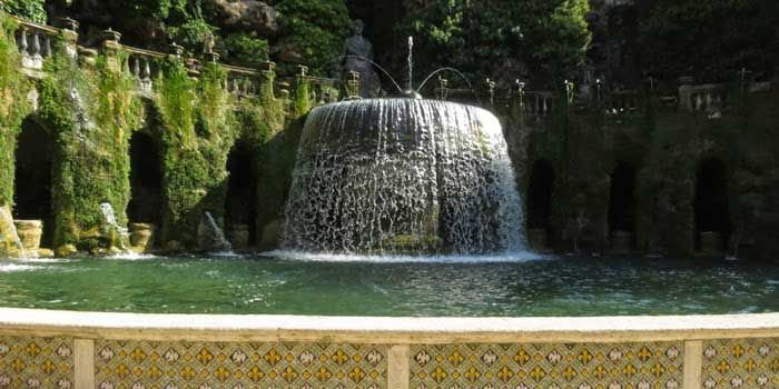 Villa d*este, Tivoli, Italy