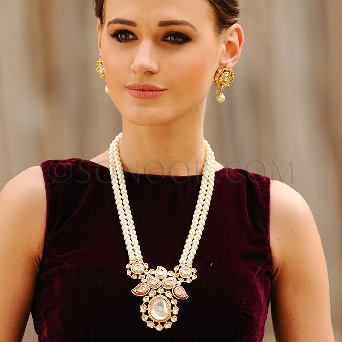 4056 Indian Bridal Jewelry Bollywood New Necklace Ethnic: 1000+ Ideas About Indian Gold Jewellery On Pinterest