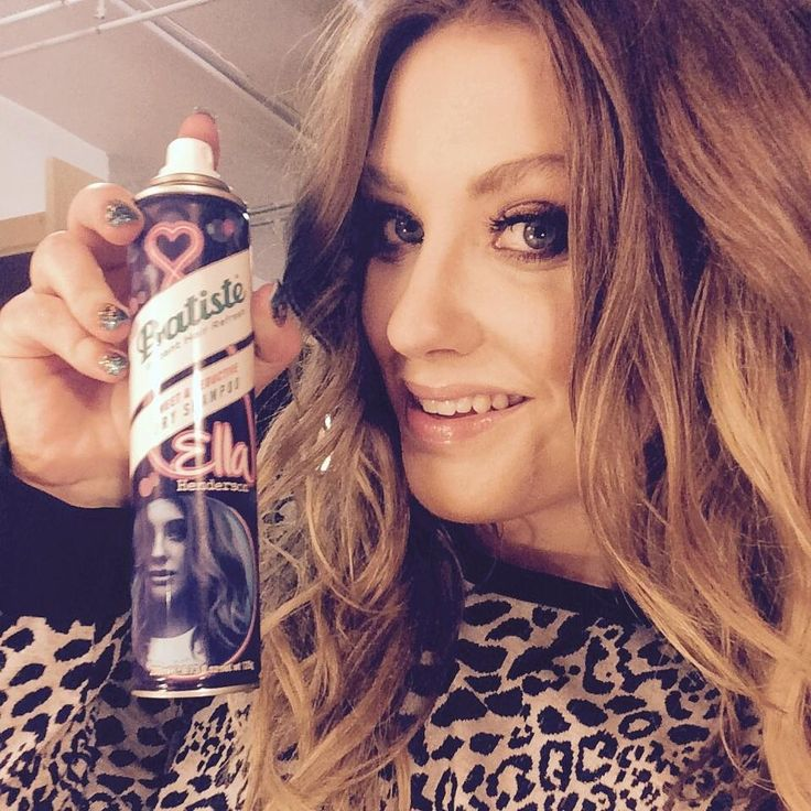 """""""Excited to reveal my very own @BatisteHair can! Hope you enjoy it as much as I did creating it! #EllaForBatitse x. E"""""""