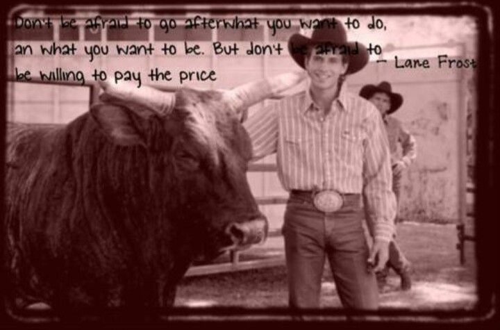 17 Best Ideas About Lane Frost On Pinterest