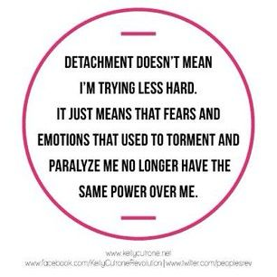 Detachment- Love this!