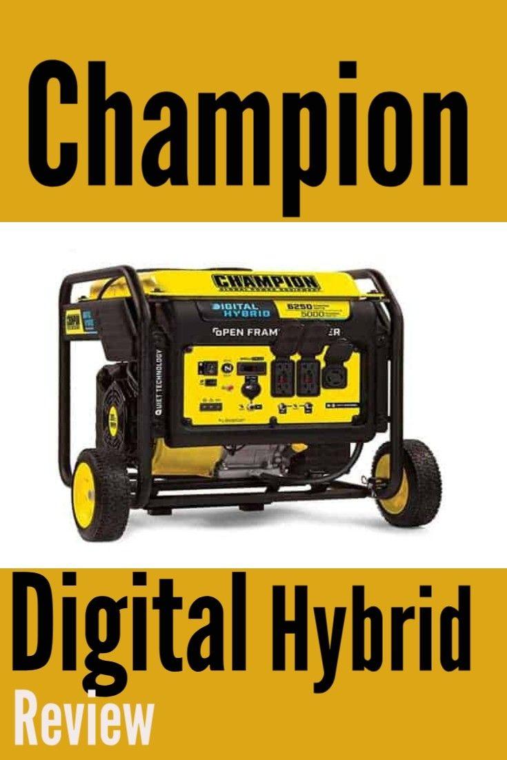 Champion Generator Review In 2020 Generation Digital Innovation Technology