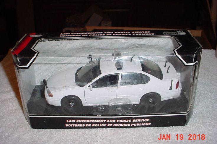 Motor Max 2002 Chevrolet Impala Undercover Police Pursuit 1/24 Diecast 76400 #MOTORMAX #Chevrolet