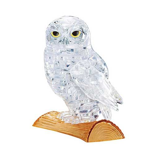 Crystal Puzzle Owl UVC 3D