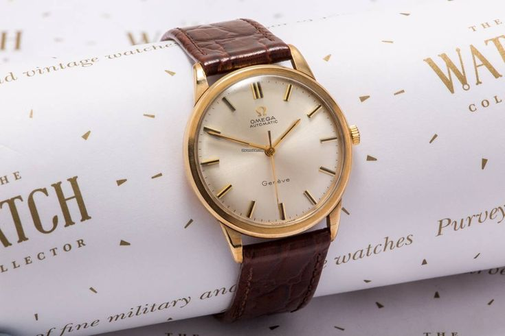 Omega Genève ad: £1,495 Omega Geneve Auto Yellow gold; Automatic; Condition 1 (mint); Year 1968; Location: United Kingdom, Macclesfield