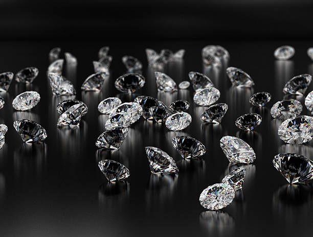 Diamonds On Black Background Diamond Diamond Background Black Backgrounds