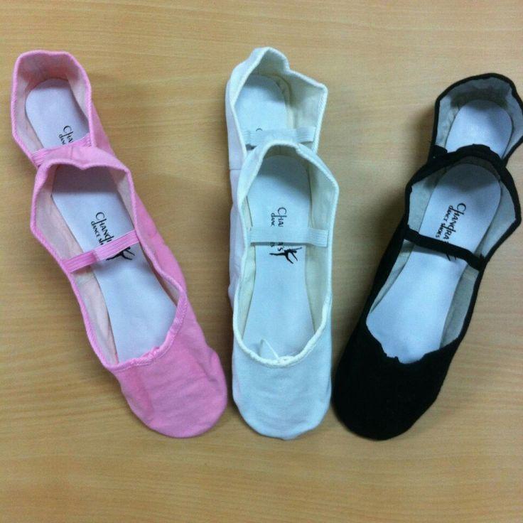 Sepatu balet Chandra bahan kanvas