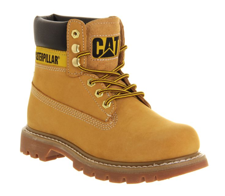 Caterpillar Colorado Boot Honey Leather Suede - Ankle Boots