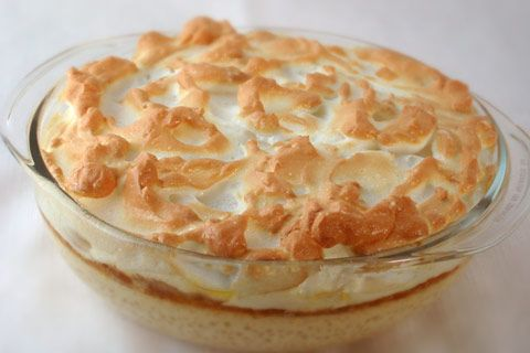 Sago Pudding w/ Meringue Top