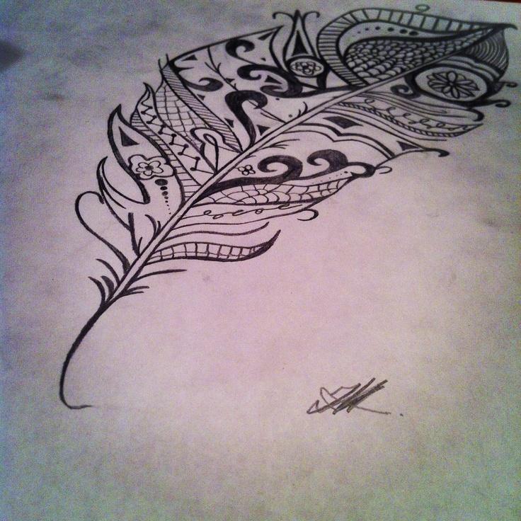 tribal feather tattoo tattoo pinterest tribal