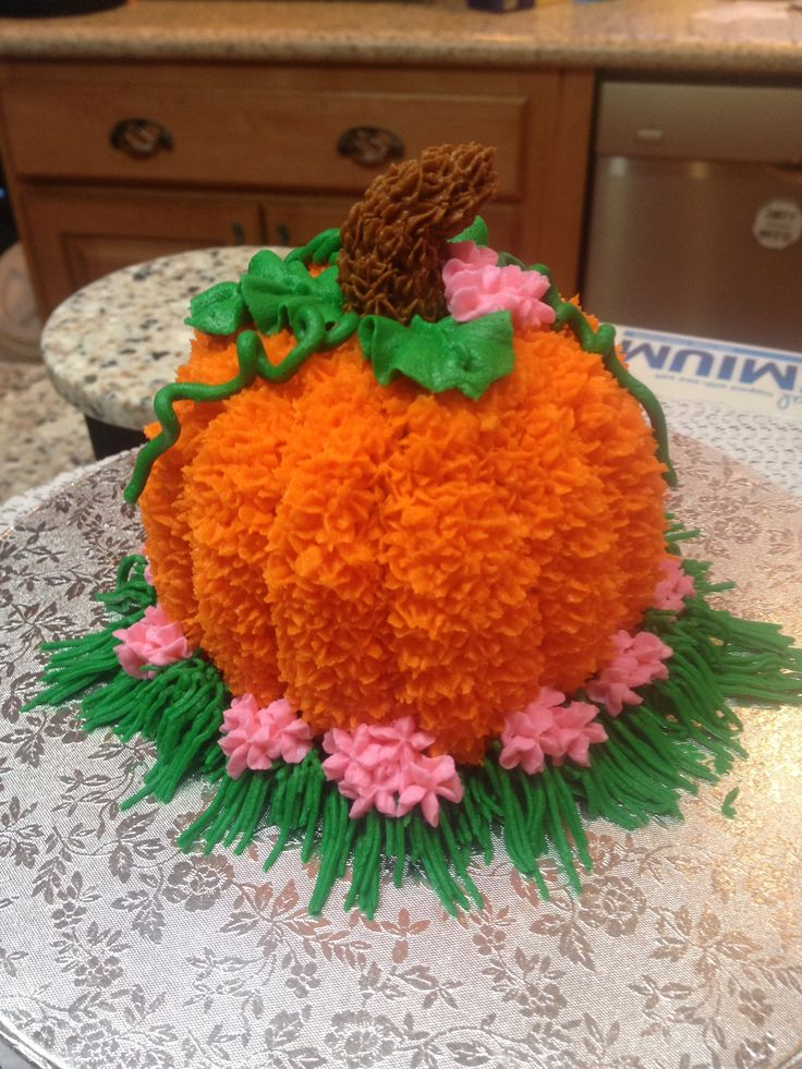 Quot Our Little Pumpkin Quot Smash Cake Cake Creations In 2019