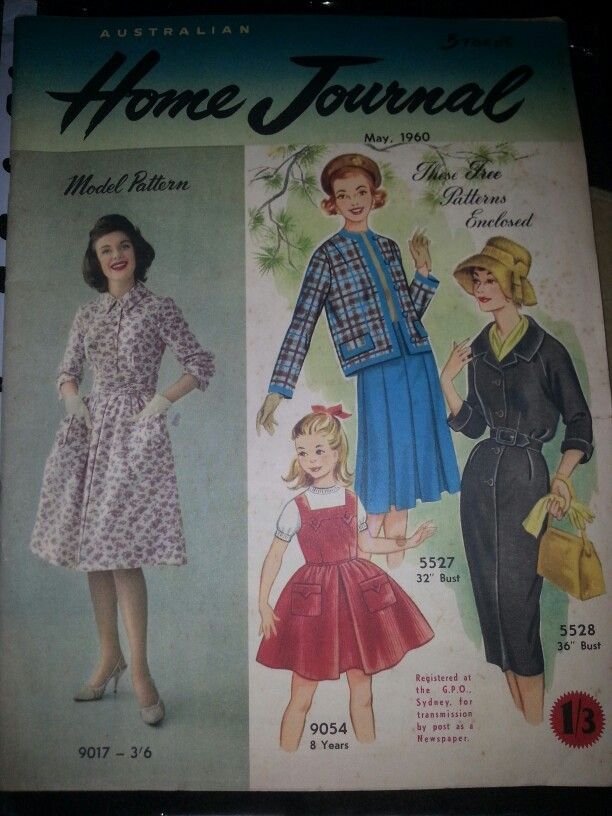 Australian home journal May 1960 cover