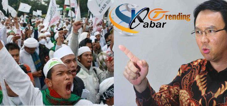 Tanggapan Ahok Soal Konvoi Takbiran Besar-Besaran FPI, Gubernur DKI Jakarta Ahok mengomentari rencana Front Pembela Islam (FPI) melakukan konvoi takbiran