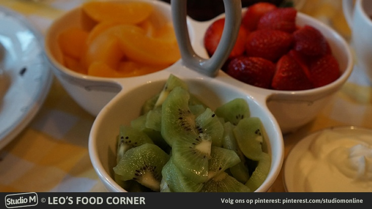 High Tea Tips: vers gesneden fruit