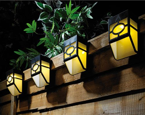 Fence Lights 4 Pack