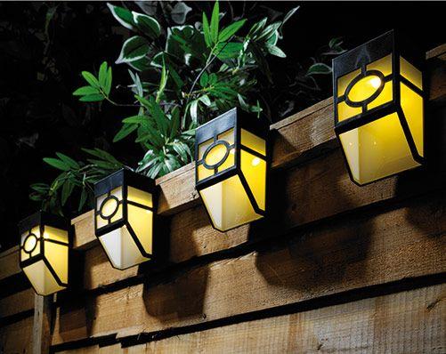 Fence Lights 4 Pack