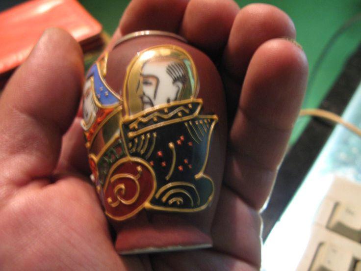 43g a SATSUMA miniature JAPANESE VASE hand painted by spyrinex06 on Etsy