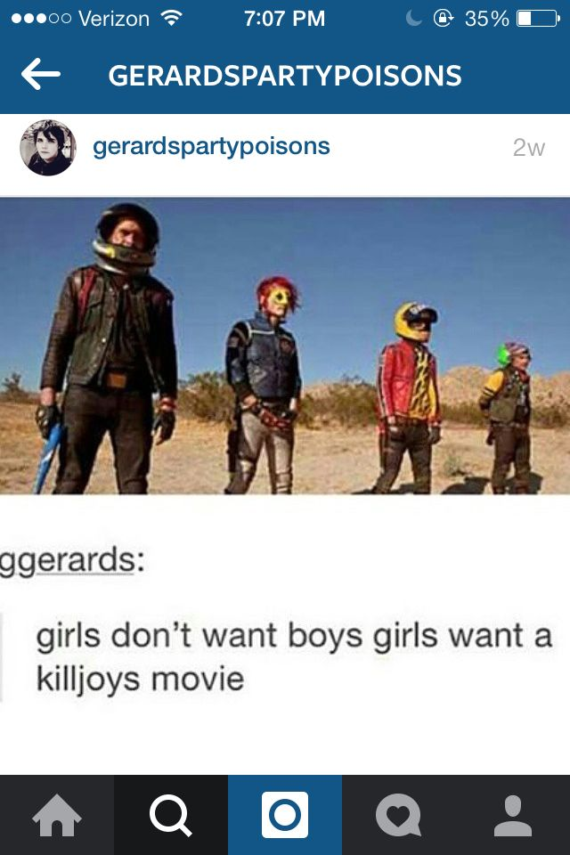 Yeeeess. Also MCR GET YER BUTTS BACK TOGETHER