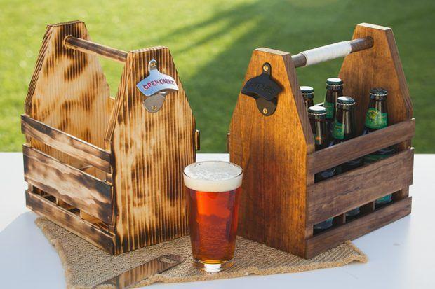 Como fazer um engradado de cerveja de madeira