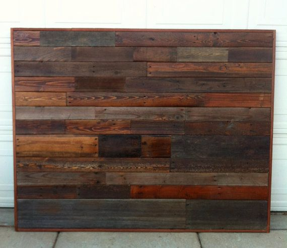 17 best images about headboards on pinterest queen for Reclaimed wood dc