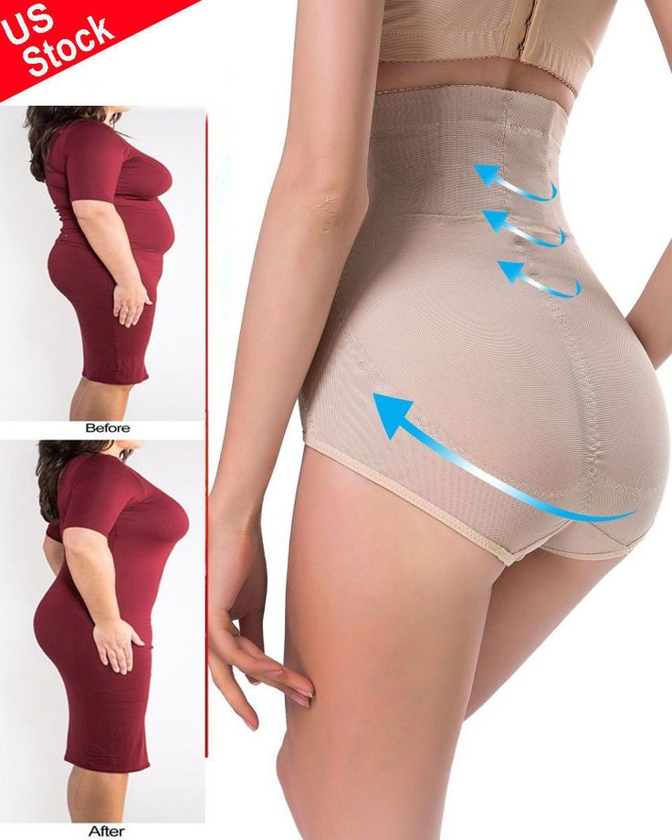 Nice Awesome US Wome's Butt Lifter High Waist Tummy Control Full Body Shaper Underwear Panty 2017 2018