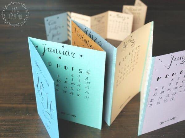 Более 25 лучших идей на тему «Kalender selber basteln» на - küchenkalender 2015 selbst gestalten