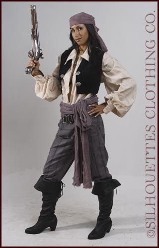 Pants for Anne Bonnie Women's Pirate Wench by topnotchcostumes