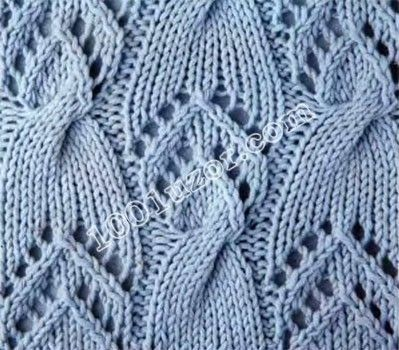 Openwork Lace Knitting Pattern : 17 Best images about Knitting stitch patterns on Pinterest ...