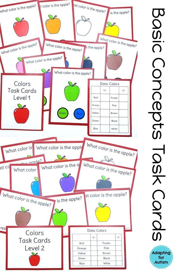 10 Basic Colors 645 best autism work tasks   teacch tasks images on pinterest