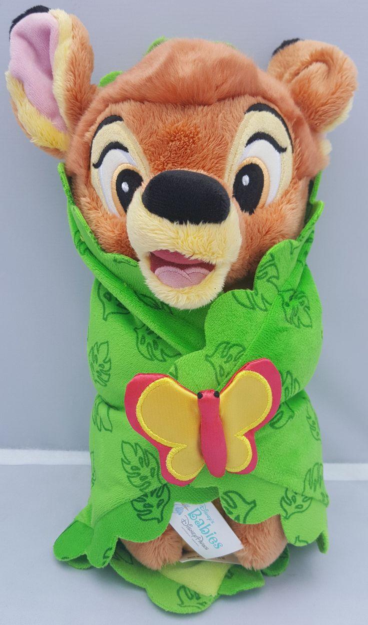 Disney Babies Bambi Baby In A Blanket Plush Plushies
