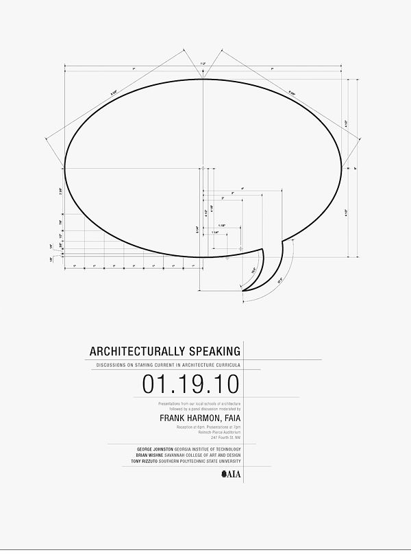 AIA - Architecturally Speaking | Designer: Wit