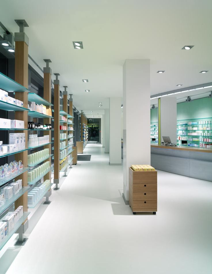 Large and well-lit drug store | City Lighting Products | www.facebook.com/CityLightingProducts