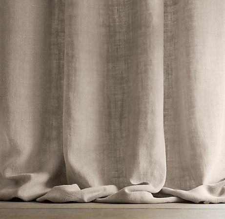 17 Best ideas about Linen Curtains on Pinterest | Restoration ...