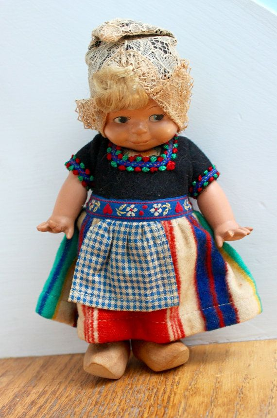 Vintage Schildkrot Kewpie Doll/ Dovina of Rotterdam Holland
