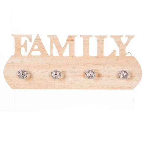 Just arrived! Unfinished Wood Plaque w/ Knobs - Family - #Woodplaque #woodplaquefamilysign #decoupageprojects
