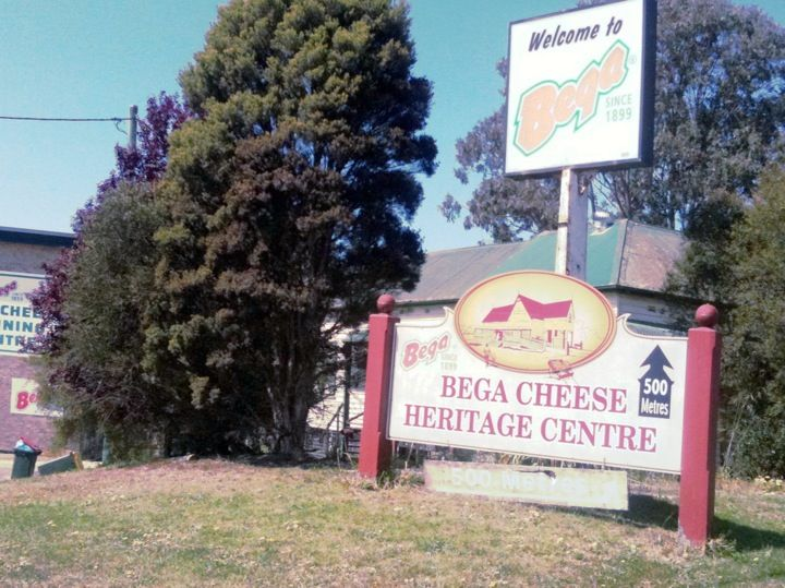 Bega Cheese Factory in Bega, NSW