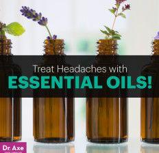 Essential oils for headaches - Dr. Axe