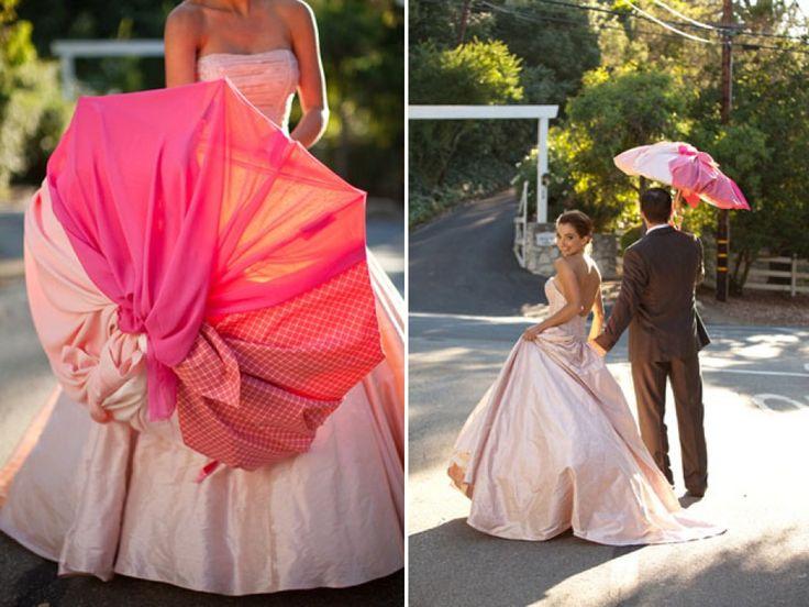 Paraplu als decoratie op je bruiloft - Niet alleen voor de regen | ThePerfectWedding.nl