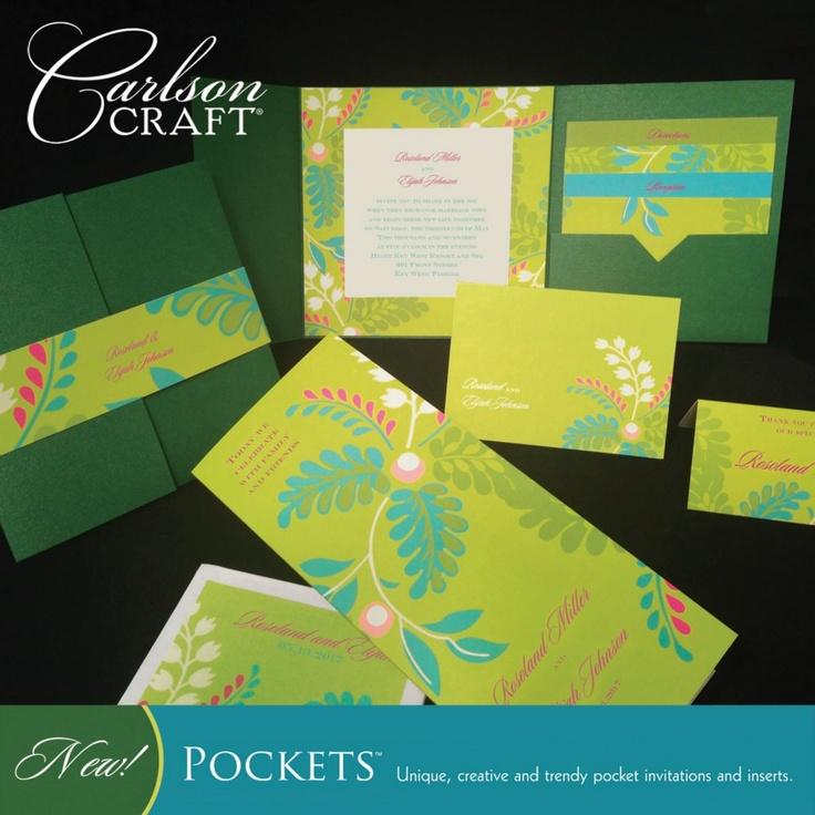 23 best Carlson Craft Pocket Invites images on Pinterest Pocket