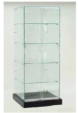 $150 on Craig's List - Frameless glass display case with ...