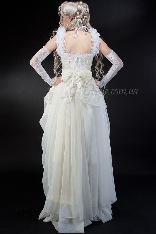 Купить Свадебное платье в Викторианском стиле 125025 – фото, цена, размеры на сайте, доставка: Киев, Украина