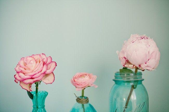 aqua & rose by @Marianne Taylor
