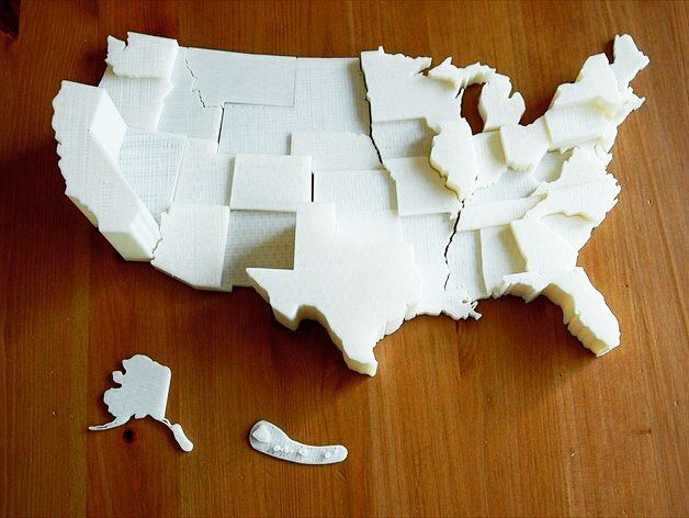 Something we liked from Instagram! Who are you voting for this presidential election?  See and feel how much your vote counts with this  United States Electoral Vote Map by TheNewHobbyist on @thingiverse  @raysspl @mitcheldumlao805 @daviderod #eezitec #3dprinting #america #electoralvotes #startups #builtinla #3dprinted #3dprinter #3dp #love #photooftheday #picoftheday #beautiful #instadaily #technology #tech #design #bestoftheday #amazing by eezitec check us out: http://bit.ly/1KyLetq