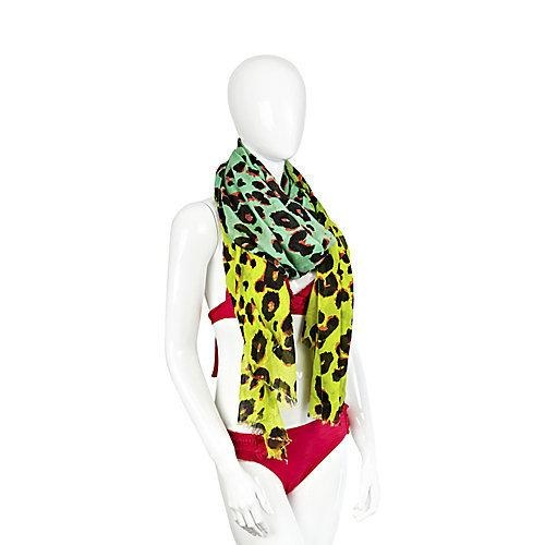 """Official Steve Madden Female Nleombre Fashion Scarves. Leopard print is always super sexy. Since it's sheer, it's seasonless- you can wear in the summer as a sarong or cover-up. During."
