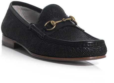 Gucci Horsebit Loafers in Black for Men - Lyst