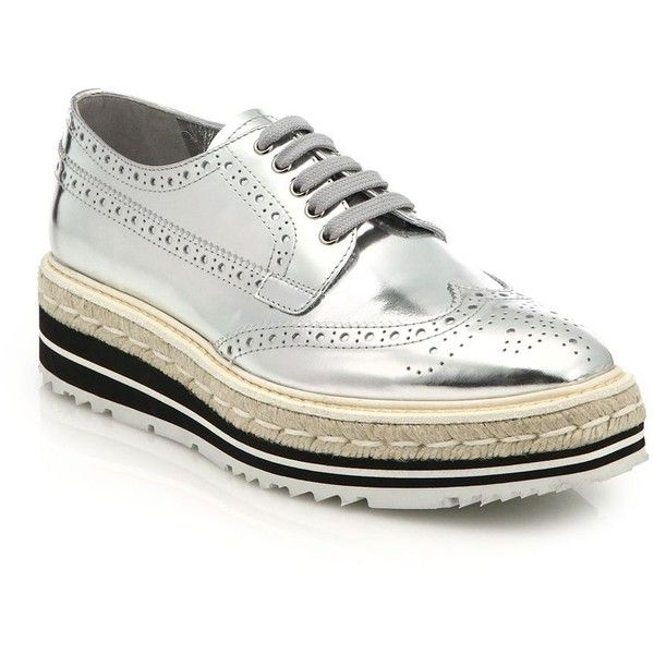 Silver-Lace-up-Oxfords